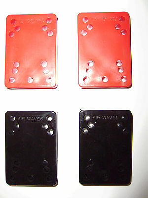 Cheese Blocks New 2 X Air Wave / Ventro Pro Roller Skate Spacers Colour Choice !