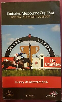 2006 Melbourne Cup Race Book Delta Blues