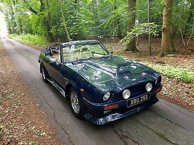 Aston Martin V8 Vantage Volante Replica Based On Ford Capri With 2.9 V6 Engine