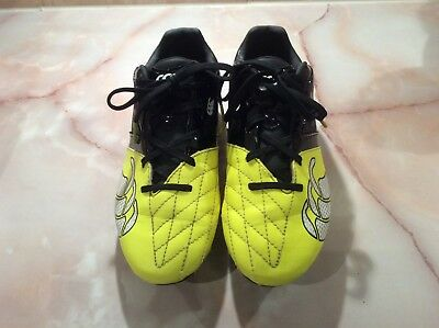 Canterbury Phoenix Club 6 stud kids rugby boots UK size 4