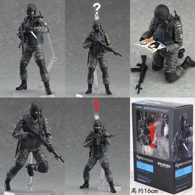 Figma 298 Metal Gear Solid 2 Sons of Liberty soldier Action Figure New In Box
