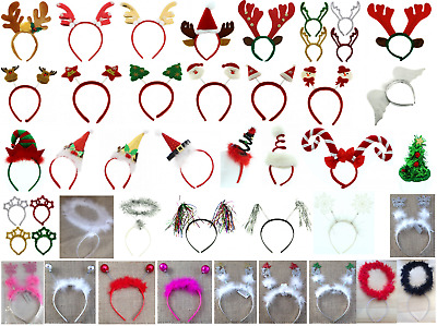 Christmas headbands, Christmas party boppers, fun Christmas accessories