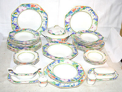 Mikasa Gallery * Country Chintz DV009 * Speise-Service 6-9 Pers. Terrine 7048