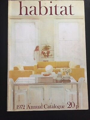 HABITAT CATALOGUE - 1972 from design icon Terence Conran (collectors item)