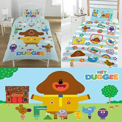 Hey Duggee Kids Bedroom Accessories Beach Towel, Single, Junior Duvet Cover Set