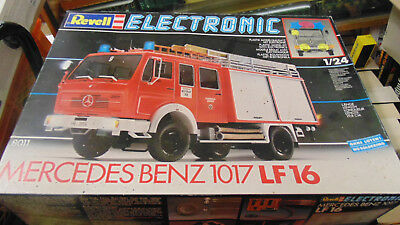 revell 1-24 electronic mercedes benz 1017 lf 16 ovp