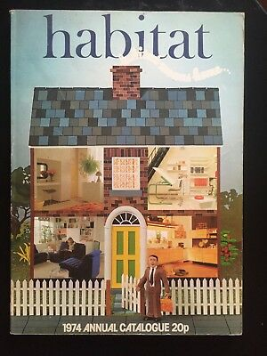 HABITAT CATALOGUE - 1974 from design icon Terence Conran (collectors item)