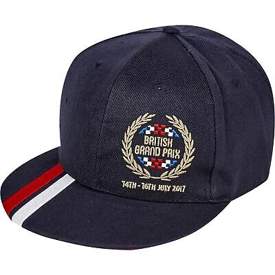 Formula 1 2017 British Grand Prix Laurel Flat Brim Cap Hat Mens Fanatics