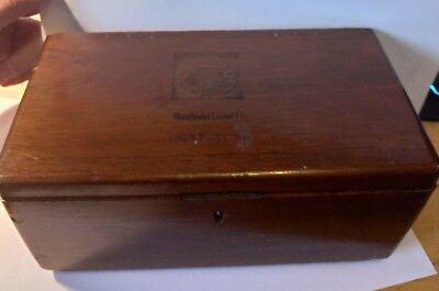 Manchester United 1963 FA Cup final wooden box