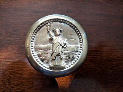 Vintage Liberty Bank Building Brass Door Knob Doorknob Buffalo New York