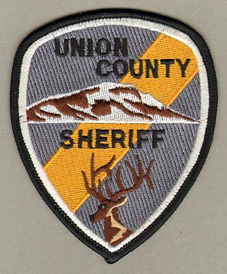 Union County Oregon OR Sheriff's Department Patch Obsolete FREE SHIPPING