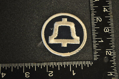 VINTAGE BELL SYSTEM TELEPHONE CO. EMBROIDERED PATCH Free Shipping