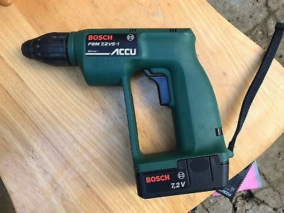 """**Good Overall Condition """"Bosch Pbm 7.2V Cordless Drill (With Manual/Papers)**"""