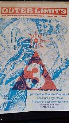 Outer Limits - Issue One - Limited Edition Spacemen 3 Fanzine - 0231