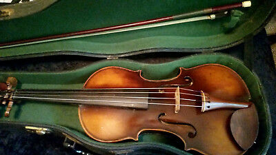 Old Antique Violin The Guldan Lifton Case Vintage
