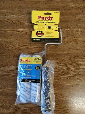 """Purdy Jumbo mini roller frame with 2x  6.5"""" Colossus sleeves"""