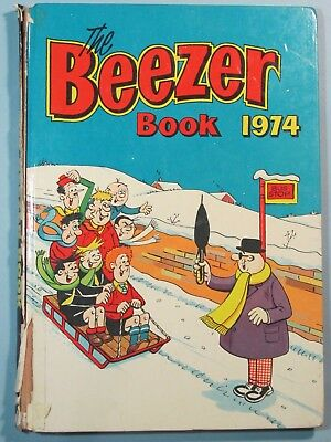 The Beezer Book 1974