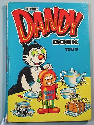 The Dandy Annuals for 1983, 1985 and 1986