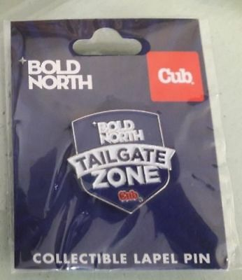 NFL Super Bowl 52 LII 2018 Lapel Trading Pin Bold North Tailgate Zone Cub Foods!