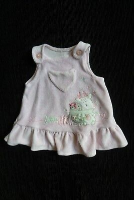 Baby clothes GIRL newborn 0-1m pink soft velour,reindeer/penguin dress SEE SHOP!