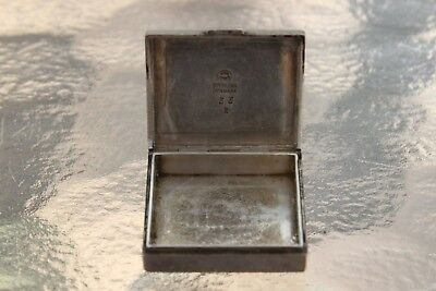 Georg Jensen Sterling Silver Box Trinket Pill 925