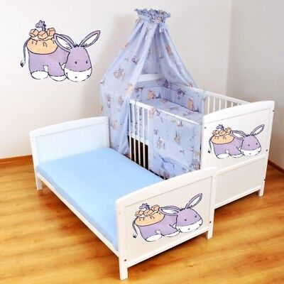 Kinderbett - Juniorbett  Babybett 140x70   Bettwäsche-Set -XXL  nr  54