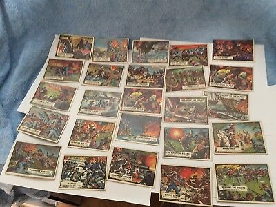 Cival War Trading Cards (25)