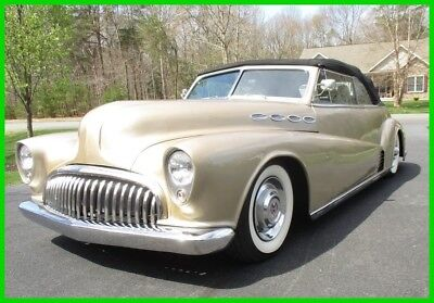Buick Super Convertible  1947 Buick Super Convertible,5.7L V8,4-Speed Automatic,Ground Up Restoration,