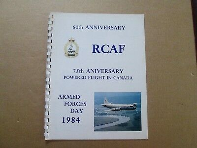 RCAF 60th Anniversary Armed Forces Day 1984 75th Anniversary of Flight