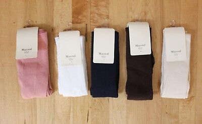 NWT Mayoral Girls' Knit Tights Available in Multiple Colors ~ Sizes 2 4 6 8