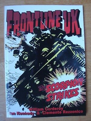 Frontline Uk Paperback Bear Alley Books 2014 Bullet Comic 1976-77 Victor Warlord