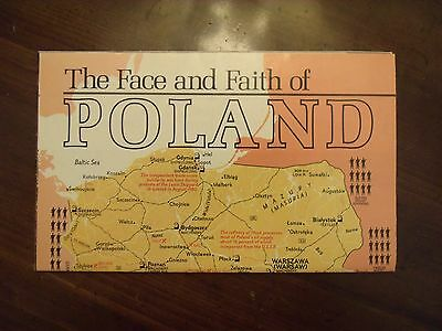 National Geographic Map & Color Photos The Face And Faith Of Poland April 1982
