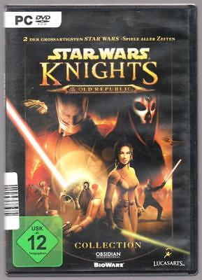 Star Wars Collection Knights of the Old Republic 1 + 2 The Sith Lords PC Spiel