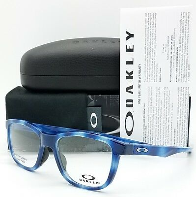 c5b5de9858d NEW Oakley Cross Step RX Prescription Frame Blue Tortoise OX8106-0552 52mm  8106