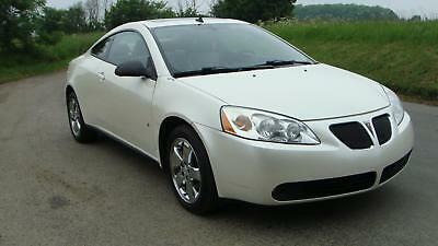 2009 Pontiac G6 Gt Coupe Left Hand Drive Lhd White Automatic Petrol Aircon