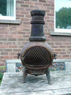 Cast Iron stove. BUYER MUST COLLECT
