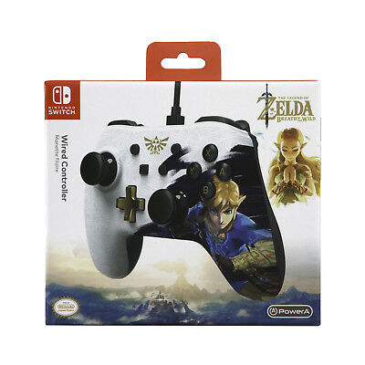 PowerA Wired Controller 8ft USB Cable for Nintendo Switch - Legend of Zelda