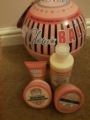 NEW Soap And Glory Glow Ball Smoothie Star Gift Set Large Bauble Ladies Gift Set