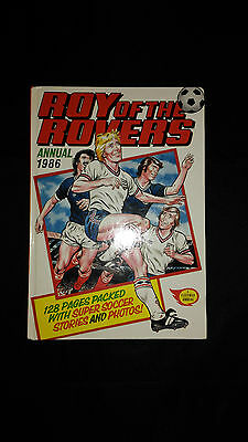 Roy of The Rovers Annual 1986 Vintage Football/Soccer Hardback