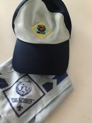 Cub Scouts Hat And Neckerchief