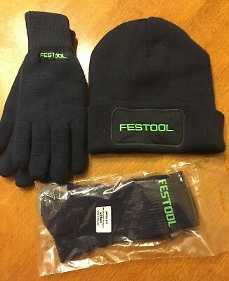 Festool Promotional Socks, Gloves and Hat