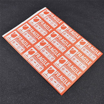 50pcs/lot 9x5cm FRAGILE Handle With Care Label Sticker Care Keep Express Label
