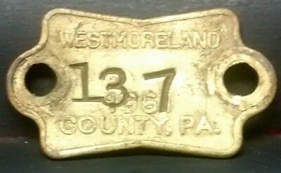 1913 PERRY COUNTY PA Dog Tax Tag License - $14 99 | PicClick