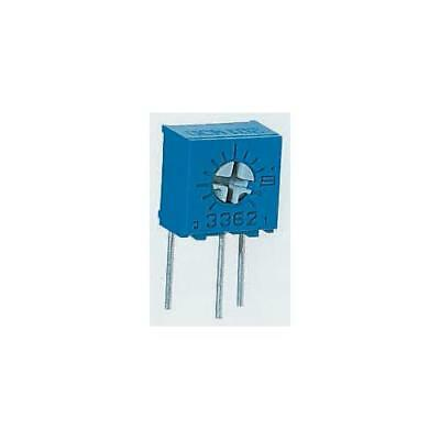 2 x Bourns 3362W Series Trimmer Resistor with Pin Terminations, 100kΩ ±10%