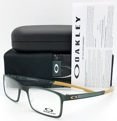7e604eb77c NEW Oakley Milestone 2.0 RX Prescription Frame Matte Green OX8047-0552 52mm  8047