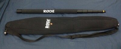 Rode 3m Telescopic Boom Pole with Rode neoprene carry bag. ***BARELY USED***