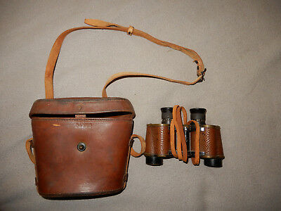 Original Wwii Us Army Signal Corps Type E 6X30 Binoculars With Case