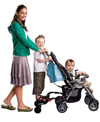 Lascal Buggy Board Mini Stroller Stand Step Up for children With Connection Kit