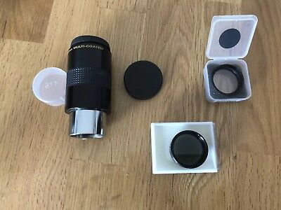 Telescope + Two Filters (3 Items)
