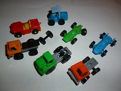 Lot Kinder Surprise Vehicules Vintage - Pour Pieces